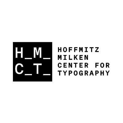 344 Design Client: Hoffmitz Milken Center for Typography